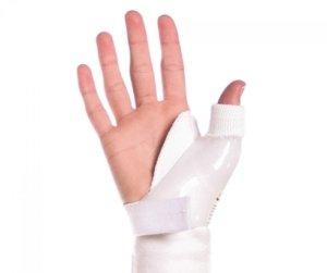 جبيرة اليد البلاستيكية Cock Up Splint - جبار اليد و الاصبع