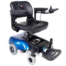 كرسي متحرك كهربائي بعصا تحكم