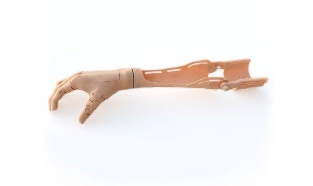 طرف صناعي من مفصل الكتف بكوع متحرك ويد صناعية ثابتة/ متحركة - الاطراف الصناعية من مفصل الكتف