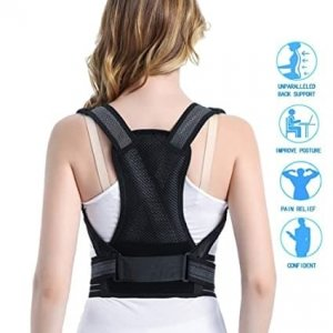 Neck and back corset